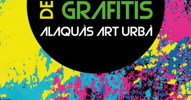 Concurs de Graffiti Alaquàs Art Urbà