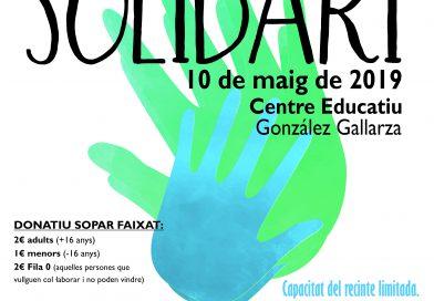 Sopar solidari 2019